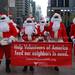 Sidewalk Santa NYC 2012