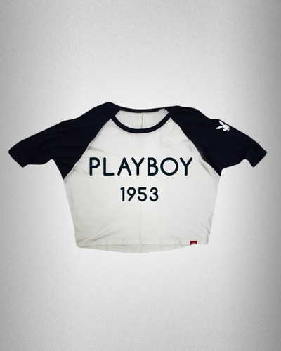 Playboy Sportiqe Women's Dolman Retro T-Shirt
