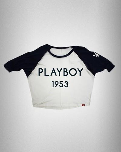 Playboy Sportiqe Women's Dolman Retro T-Shirt
