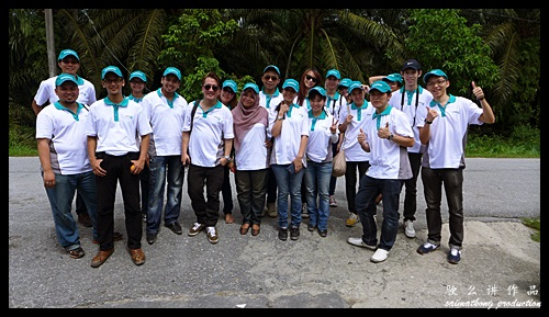 All the bloggers and media friends that supporting the Sentuhan Kasih Deepavali with Petronas @ Kampung Wellington
