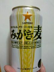 みがき麦の缶