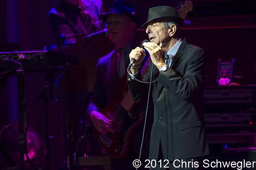 Leonard Cohen - 11-26-12 - Old Ideas Tour, Fox Theatre, Detroit, MI