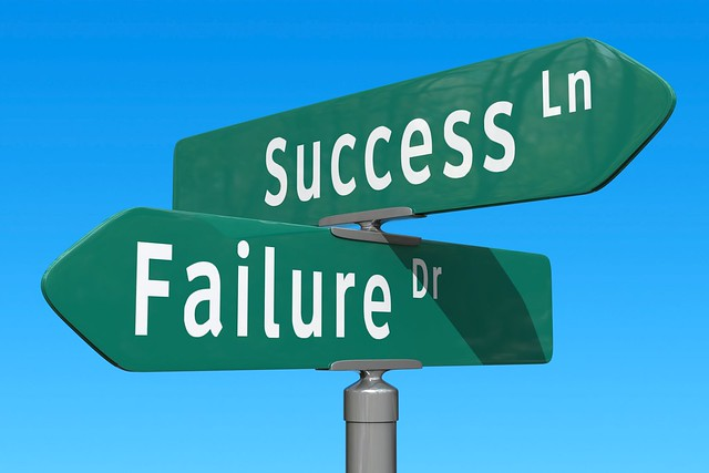 Photo:Crossroads: Success or Failure By:StockMonkeys.com