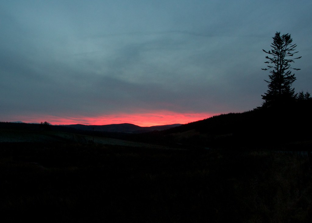 Glen Rinnes Sunset