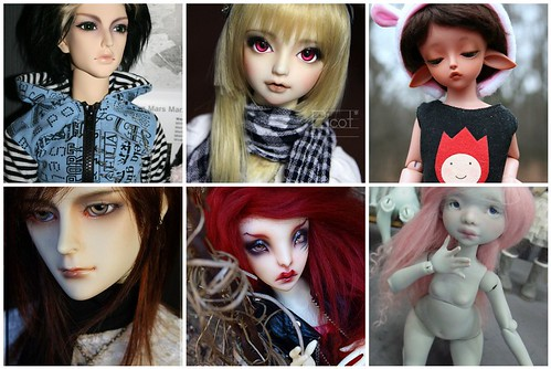 how an ideal bjd family should look like
