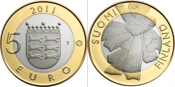 5 Euro Fínsko 2011, provincia Ostrobohnia