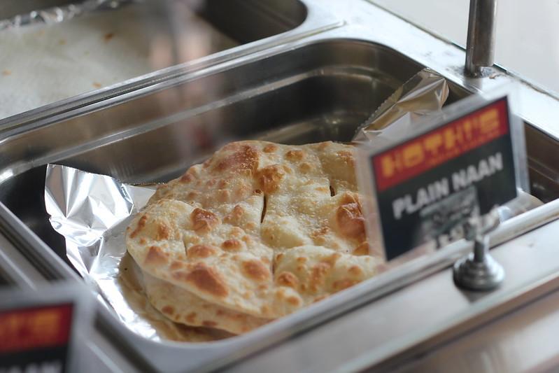 Plain naan bread