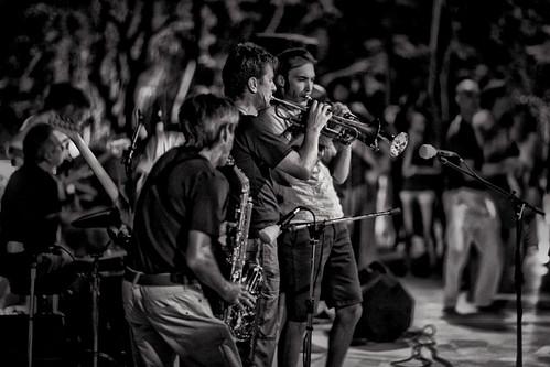 Musicians in Afroz by David Gardiner