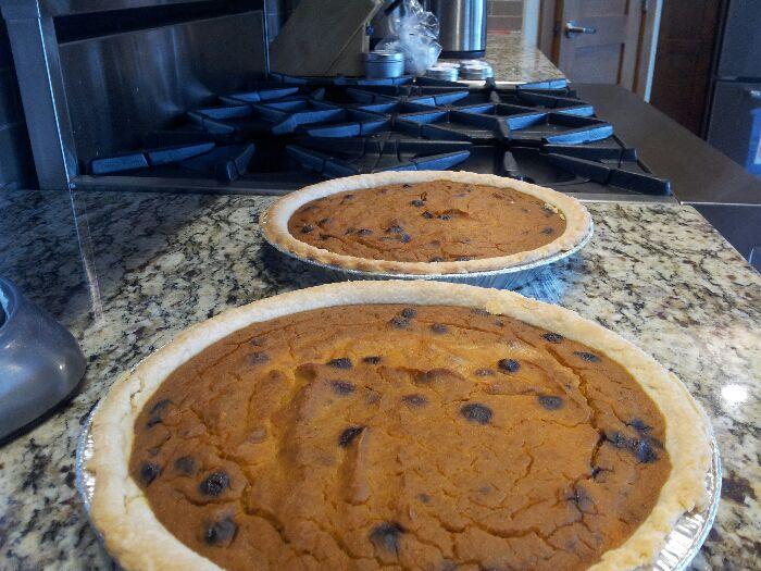 blueberry pumpkin pie