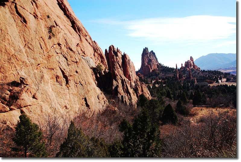 Panorama of the Garden of the Gods 2