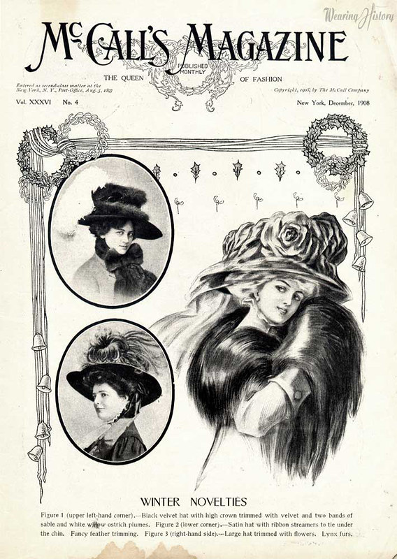 winter novelties 1908