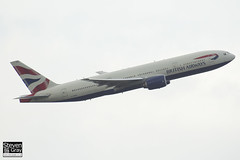 G-YMMD - 30305 - British Airways - Boeing 777-236ER - Heathrow - 120721 - Steven Gray - IMG_5561