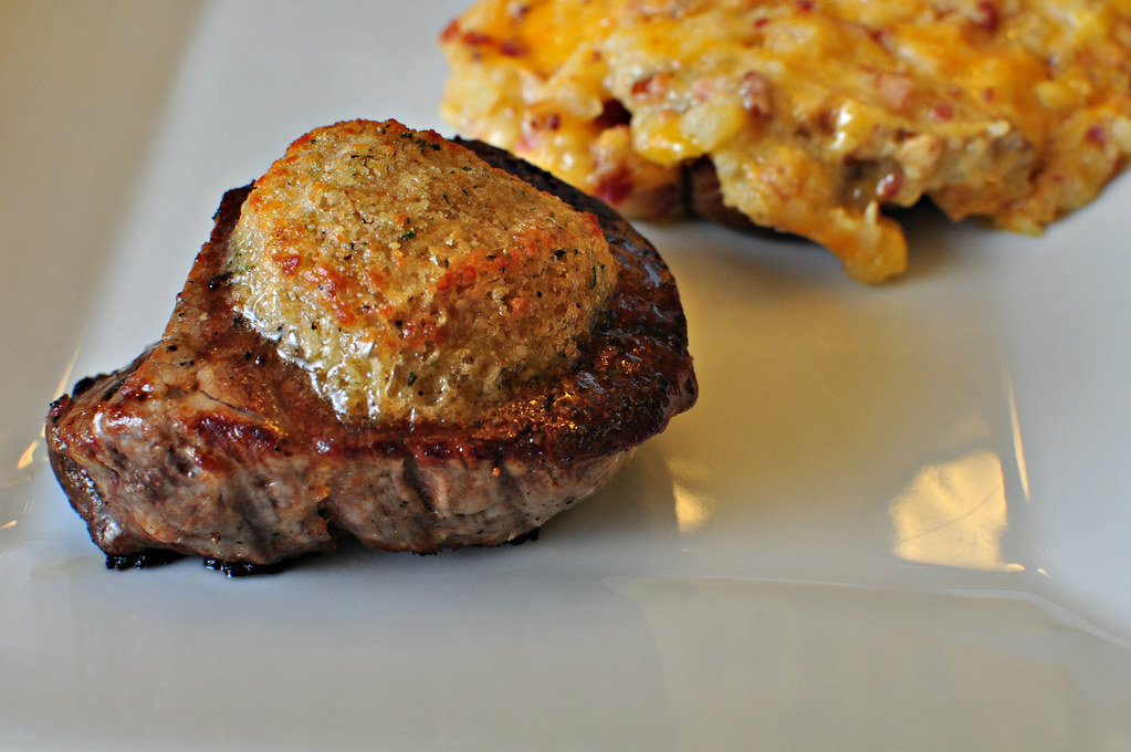 Parmesan Crusted Filet Mignon