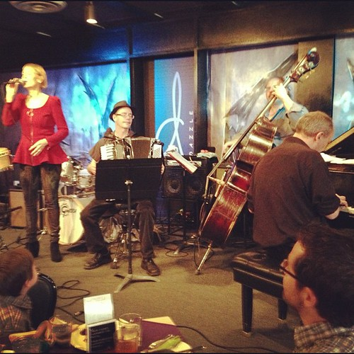 I love #jazz ... And there's nothing that compares to seeing it live! A wonderful performance today at Dazzle. In Denver!