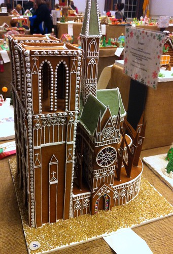 WPIR - notre dame gingerbread house