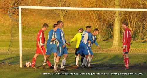 Cliffe FC 3 - 1 Bishopthorpe Utd 1Dec12