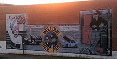 Dale Earnhardt Mural - Bristol