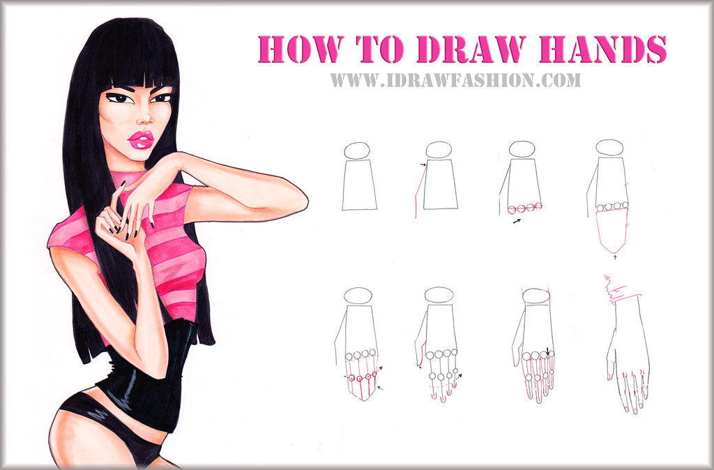 How to draw hands step by step | Flickr - Photo Sharing!