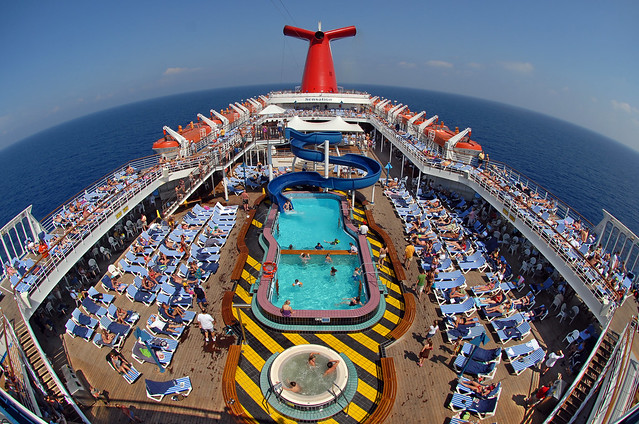 Sensation Lido Deck From The Owner S Suite Flickr
