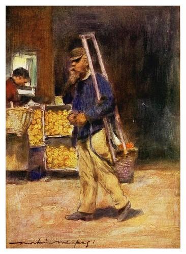 006-Vendedor de naranjas-Paris (1909)-Mortimer Menpes
