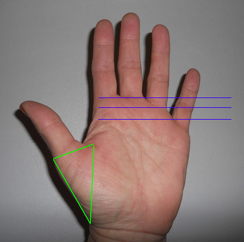 Fingerposition