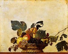 Caravaggio 'Basket of Fruit' c.1599