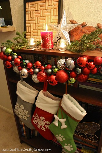Holiday ornament garland Tutorial