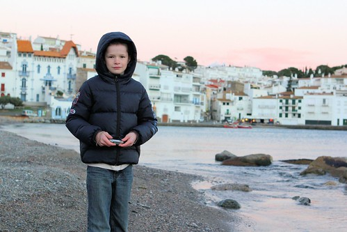 Silas on beach in Cadaques_0403