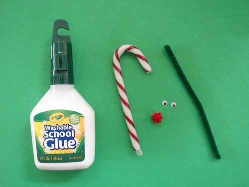 Candy Cane Reindeer - what you need