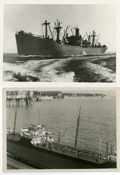S.S. Baylor Victory, photo and model