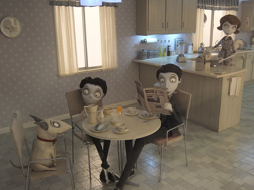 Art of Frankenweenie Exhibition #FRANKENWEENIE