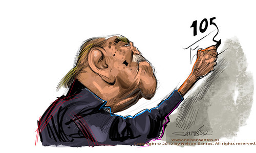 oscar-niemeyer by caricaturas