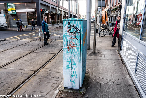 Street Art On Abbey Street - Dublin (Ireland) by infomatique