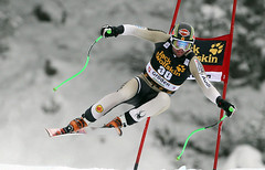 Manuel Osborne-Paradis finishes seventh in World Cup downhill in Val Gardena, Italy.