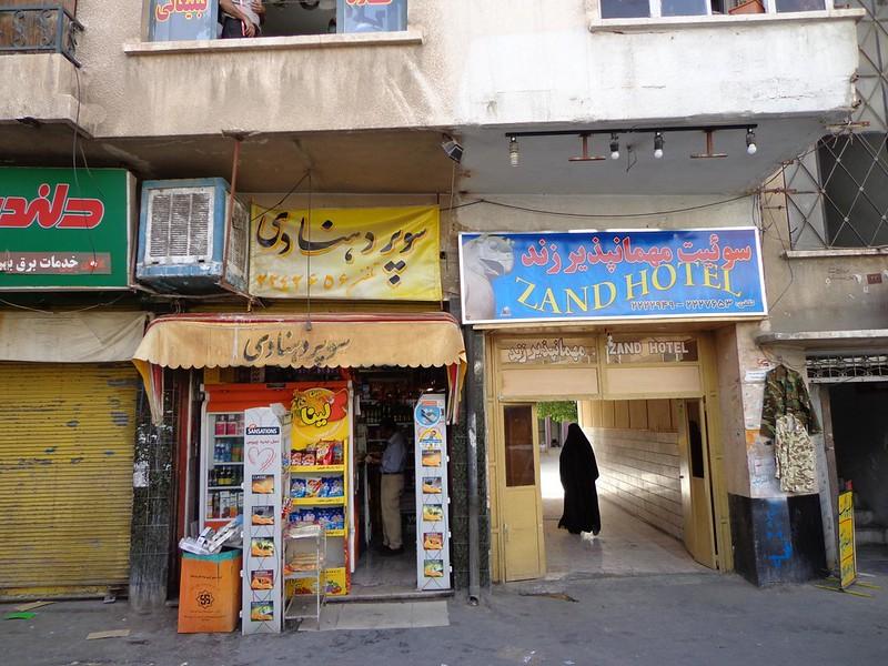 Hotel Zand em Shiraz Irão