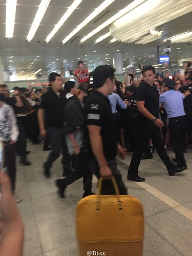 BIGBANG GDTOPDAE arrival Hangzhou 2015-08-25 125