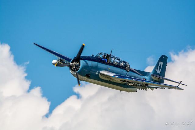 Grumman TBF Avenger Greenwood Lake Airshow 2016