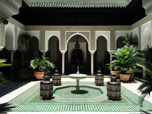 La Mamounia courtyard