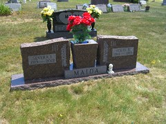Location of headstone: St. Mary's Calvary Cemetery Section A