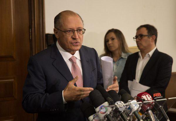 eraldo Alckmin (PSDB), em seu segundo mandato seguido como governador de São Paulo, pedalou com recursos do Metrô (Foto: Du Amorim/A2)