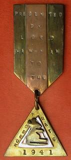 Pioneers Rats of Tobruk medal