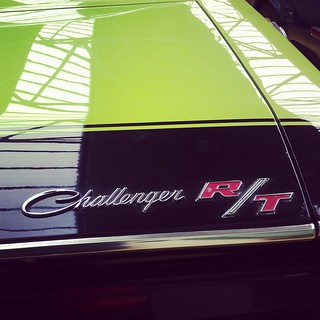 Dodge Challenger R/T Badge