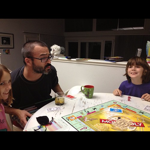 Family night! Monopoly!