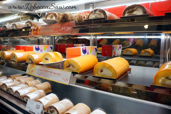 tokyo station - gransta area - cakes and desserts-009