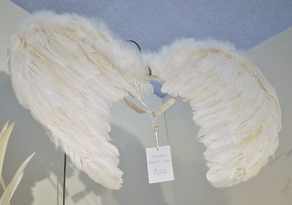 Feather angel wings from The Gorgeous Company