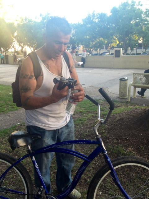 Planet bike lock