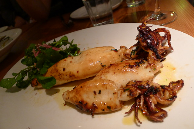 local squid with italian parsley & chili