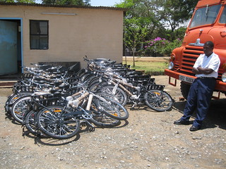 Bicycle delivery in Kalomo