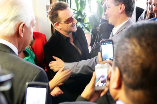 In line for U2 Bono