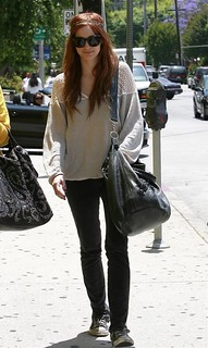 Ashlee Simpson Converse Celebrity Style Women's Fashion